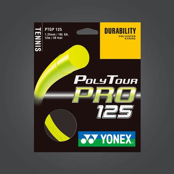 POLYTOUR PRO 125 FLASH YELLOW