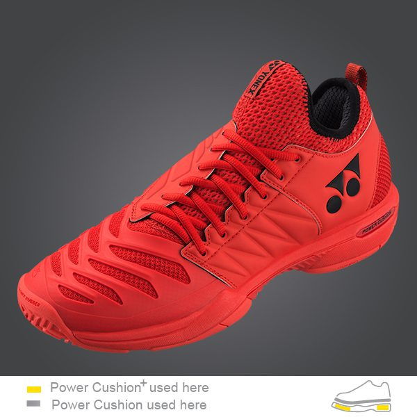 SHT FR3EX FUSION REV3 TENNIS SHOES RED